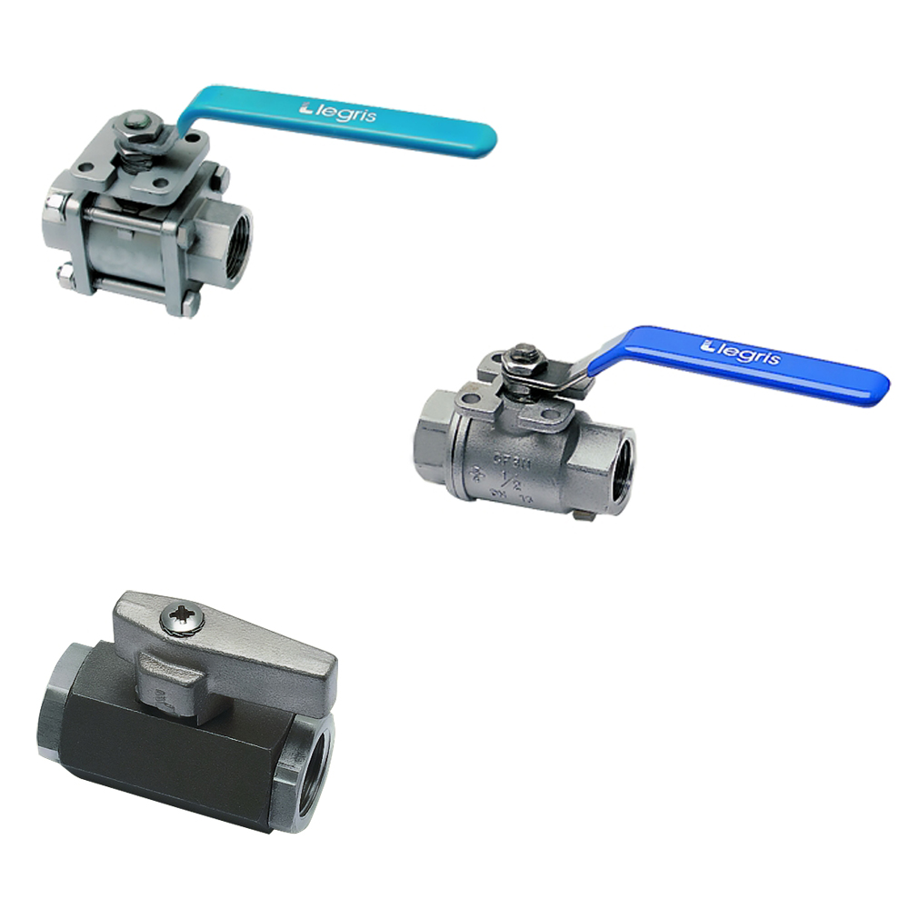 Ball Valves, Stainless Steel Series