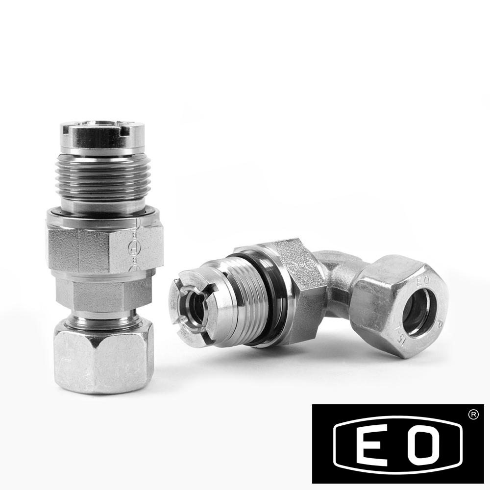 Ermeto din plain bearing rotary fittings