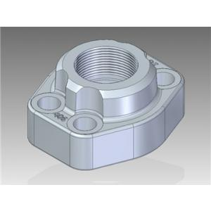 SAE Threaded flanges