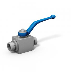 2-way ball valve with threaded connection