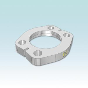 FUSF SAE Flange clamps flat
