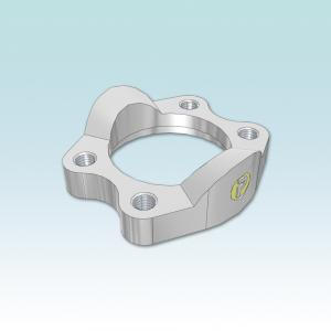 FUSM SAE Flange clamps with metric tapped holes