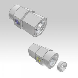 Ermeto DIN Pressure gauge connectors