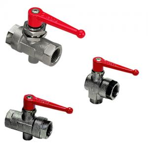 Ball Valves, Universal Series, Vented