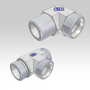 Ermeto DIN Non Adjustable high pressure tube fittings
