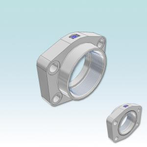 PFF-G SAE Straight 4 bolt flange with BSPP thread