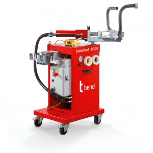 Mobile bending machine