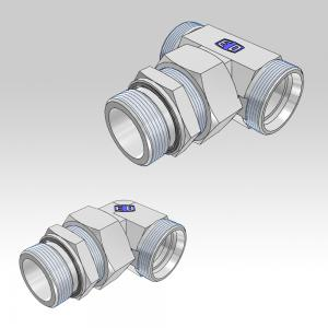 Ermeto DIN Swivel adjustable high pressure tube fittings