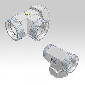 Ermeto DIN tube to tube swivel high pressure hydraulic tube fittings